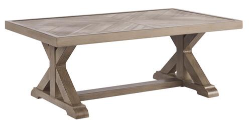 Beachcroft Beige Rectangular Cocktail Table