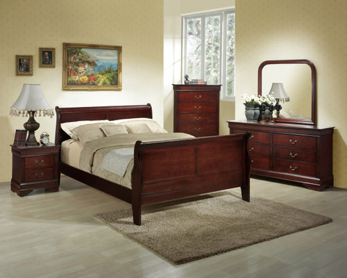 Classic Cherry Chest of Drawers