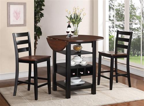 Kimball 3 PC Counter Height Table
