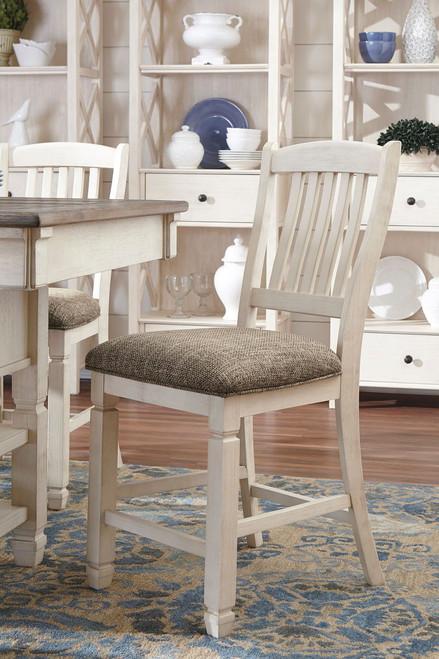 Bolanburg Two-tone Upholstered Barstool