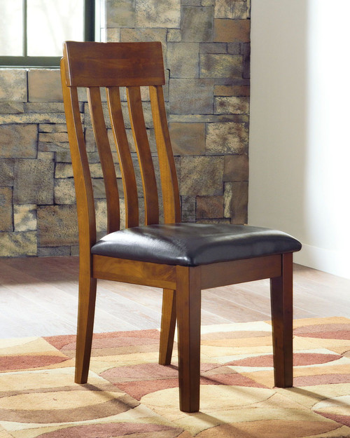 Ralene Medium Brown Dining UPH Side Chair