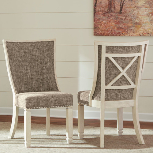 Bolanburg Two-tone Dining UPH Side Chair