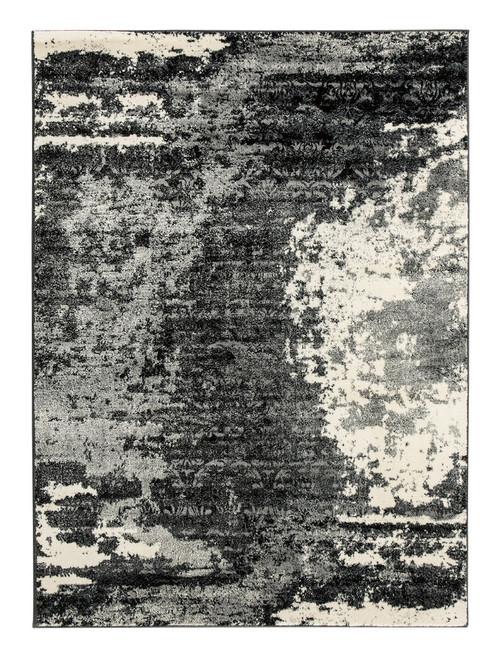 Roskos Black/Gray Medium Rug