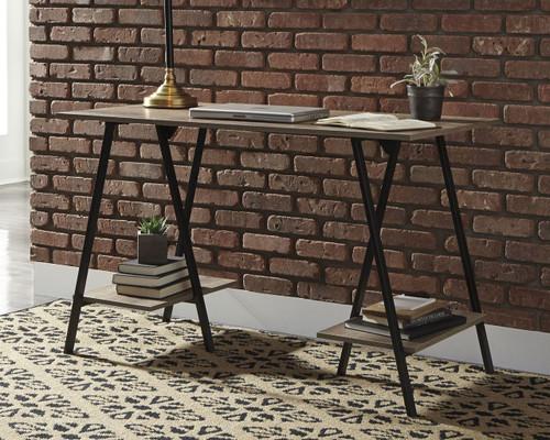 Bertmond Two-tone Home Office Desk