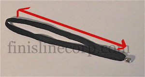 Length of elastic loop measurement
