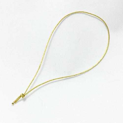 """4"""" Metallic Gold Cord Tag Loops"""