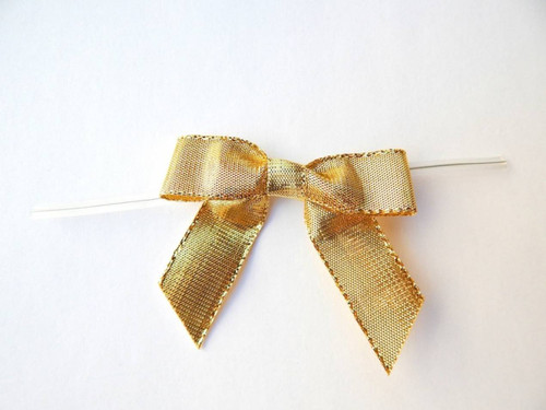 Metallic Twist-tie Bows