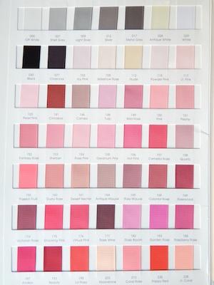 Grograin Ribbon Colors 1/4