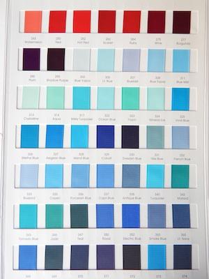 Grograin Ribbon Colors 2/4