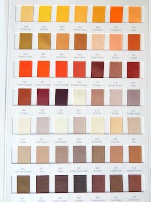 Grograin Ribbon Colors 4/4