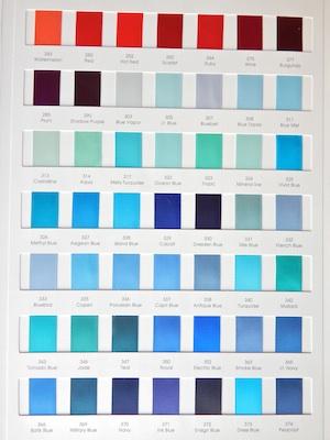 Satin Ribbon Colors 2/4