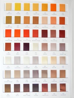 Satin Ribbon Colors 4/4