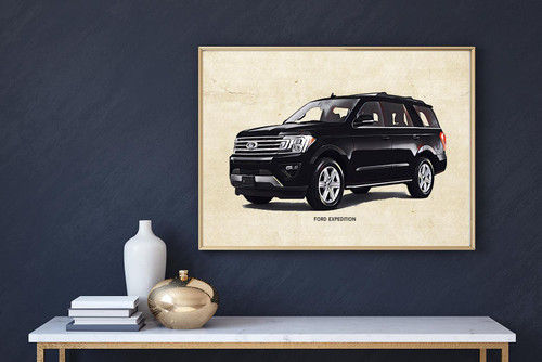 Ford Expedition Art Print