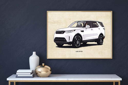 Land Rover Discovery Art Print