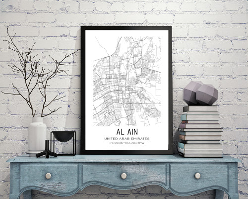 Al Ain, United Arab Emirates Art Print