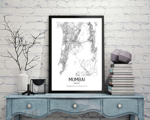 Mumbai, India Art Print
