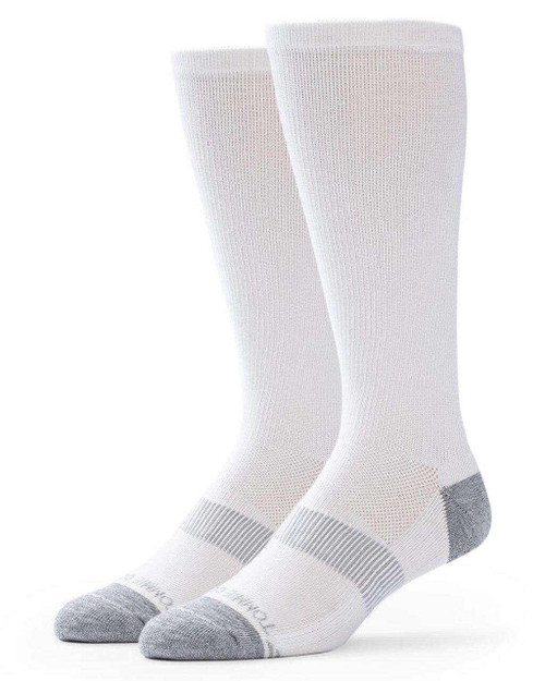 White - Women's Core Everyday Over the Calf Compression Sock