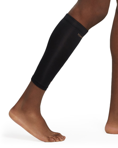 Black - Men's Core Compression Calf Sleeve