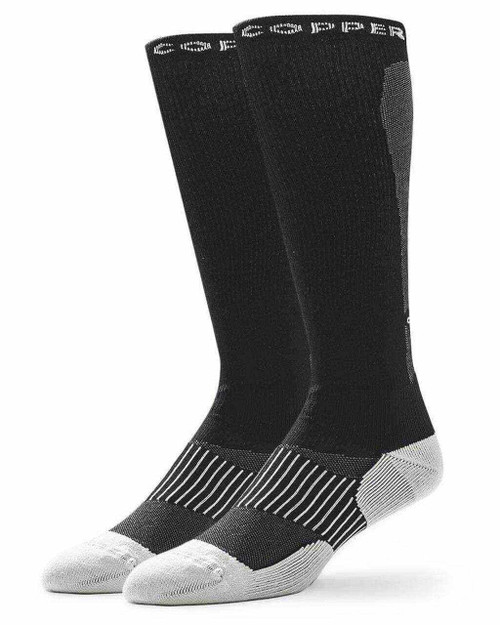 Black - Women's Performance Compression Over The Calf Socks