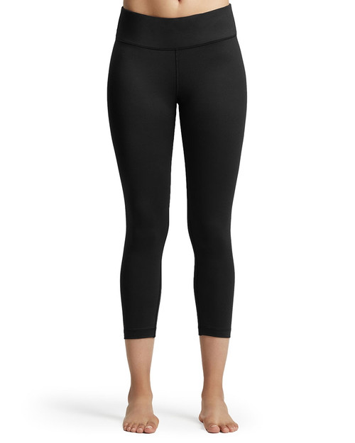 Black - Women's Core Compression Capri