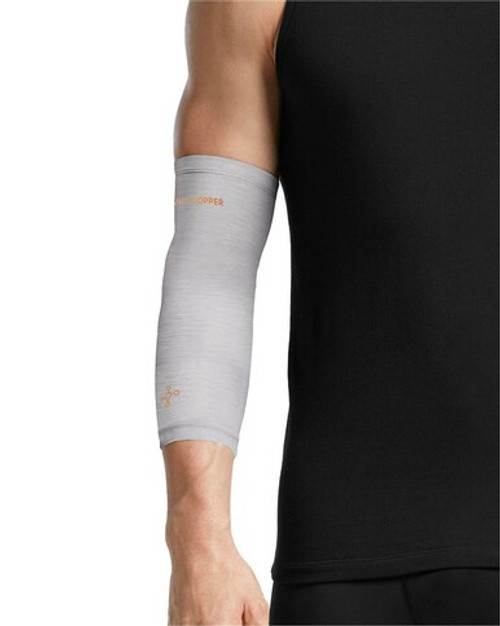 Silver Heather - Men's Core Compression Elbow Sleeve Outlet
