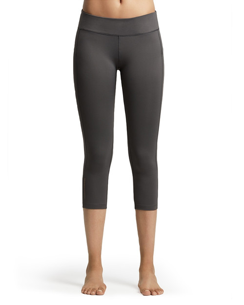 Slate Grey - Women's Performance Compression Capri