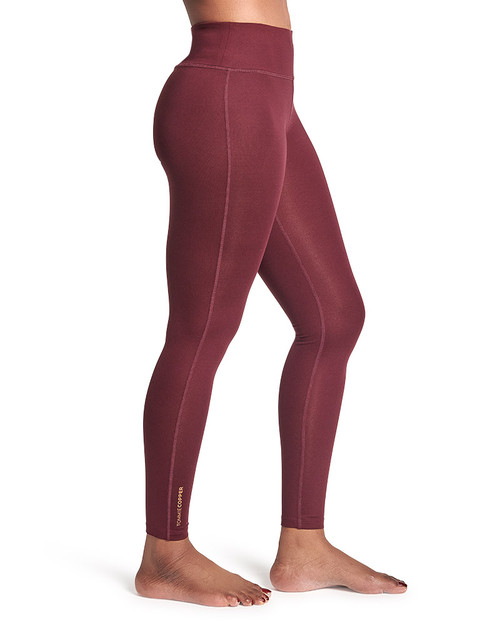 Burgundy - Women's Core Compression Legging