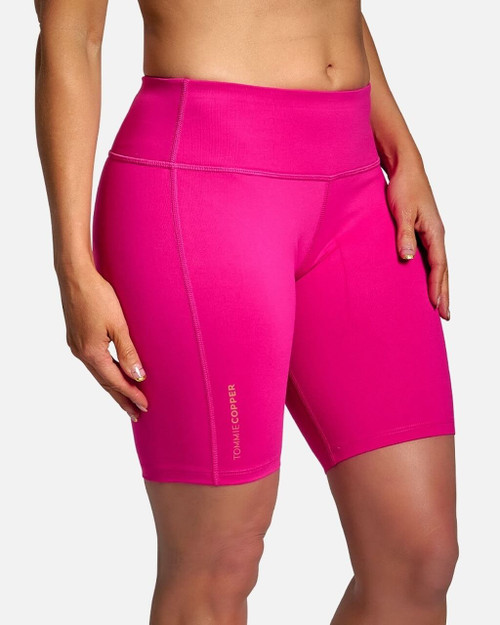 Pink - Women's Core Compression Shorts