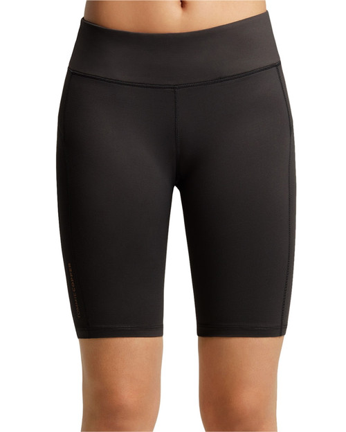 Black - Women's Performance Compression Shorts