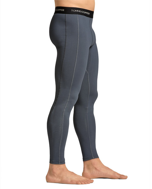 Dove Grey - Men's Performance Compression Tights