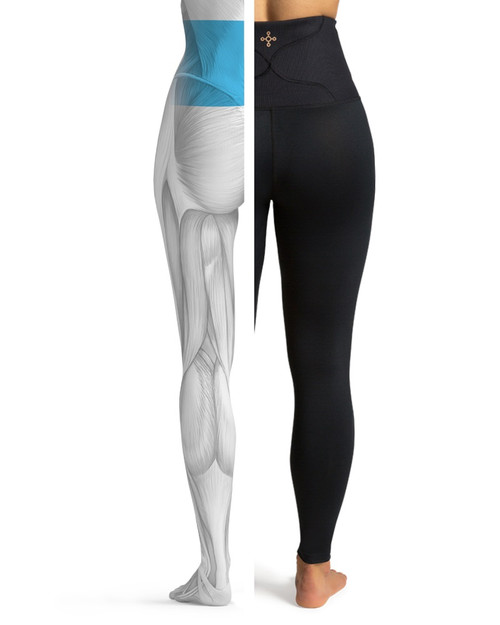 Black - Women's Pro-Grade Lower Back Support Leggings