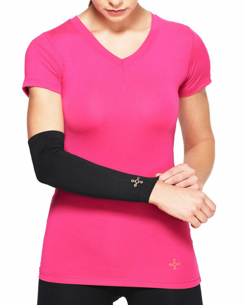 Black - Women's Core Compression Full Arm Sleeve