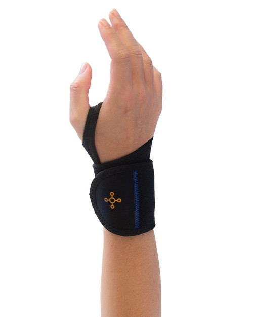 Black - Women's Pro-Grade Adjustable Wrist Wrap