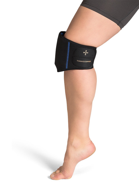 Black - Women's Limb Therapy Wrap with Hot & Cold Gel Packs