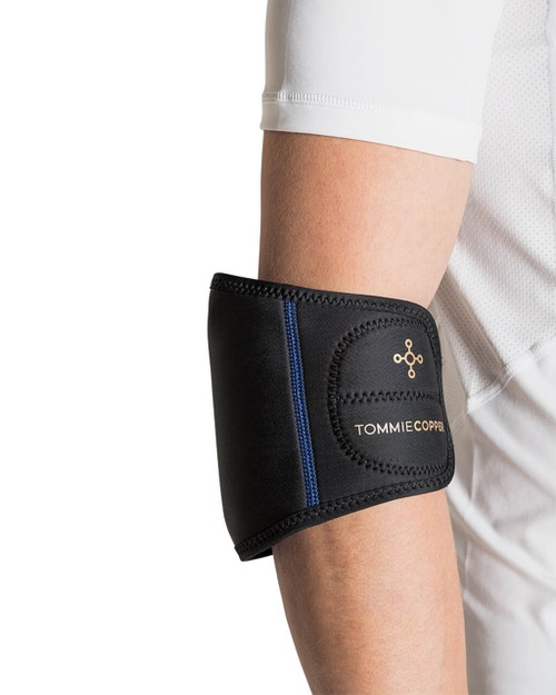 Black - Men's Limb Therapy Wrap with Hot & Cold Gel Packs