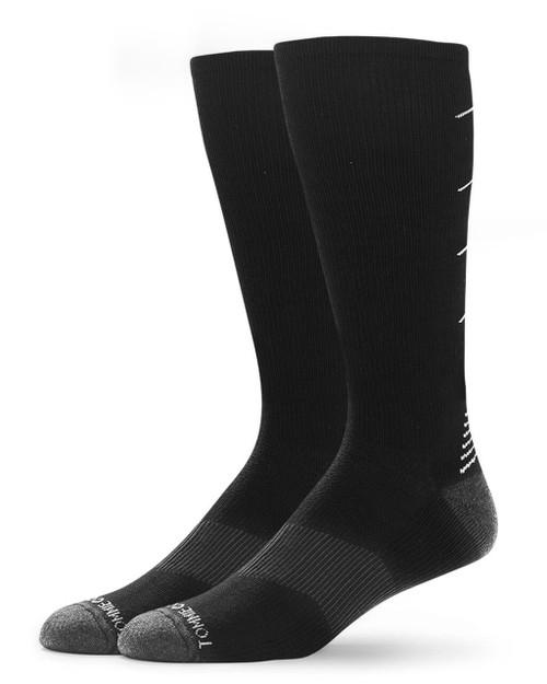 Black - Men's Core Ultra-Fit Over The Calf Compression Socks