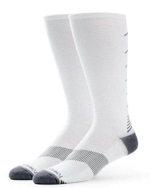 White - Women's Core Ultra-Fit Over The Calf Compression Socks