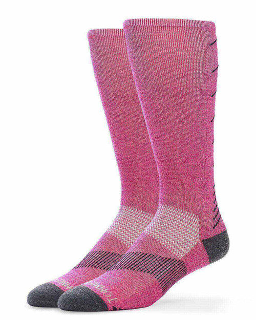Magenta Purple - Women's Core Ultra-Fit Over The Calf Compression Socks