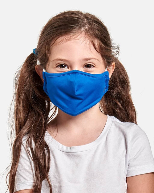 Cobalt Blue - Kids' 2-Pack Community Wear™️ Face Mask