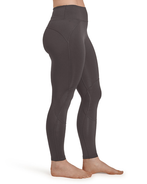 Slate Grey - Women's Pro-Grade Legging with Knee Support