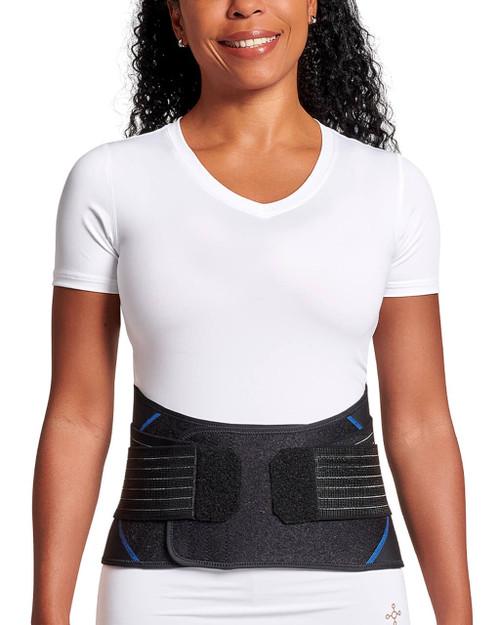 Black - Women's Pro-Grade Adjustable Back Brace