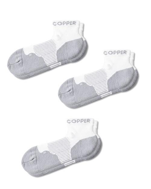 White - Women's 3-Pack Performance Ankle Socks Outlet