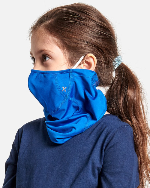 Cobalt Blue - Kids' Community Wear™ Face Mask Gaiter