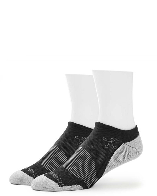 Black - Women's Performance Athletic No-Show Socks