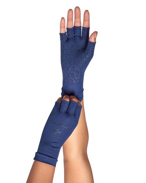 Dark Navy - Women's Core Compression Half Finger Gloves