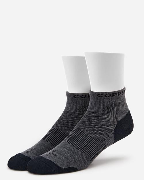 Slate Grey - Men's Core Flex-Fit Ankle Compression Sock