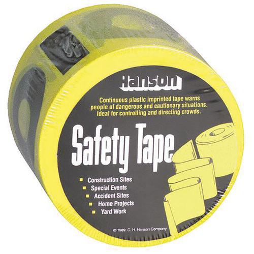 Caution Safety Tape 3 in.X300' 14001