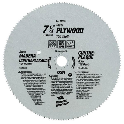 B&D Plywood/Panel Blade 7-1/4 in.