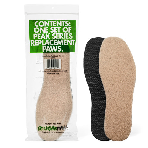 Cougar Paws Peak Replace Pad Size 7.5-8