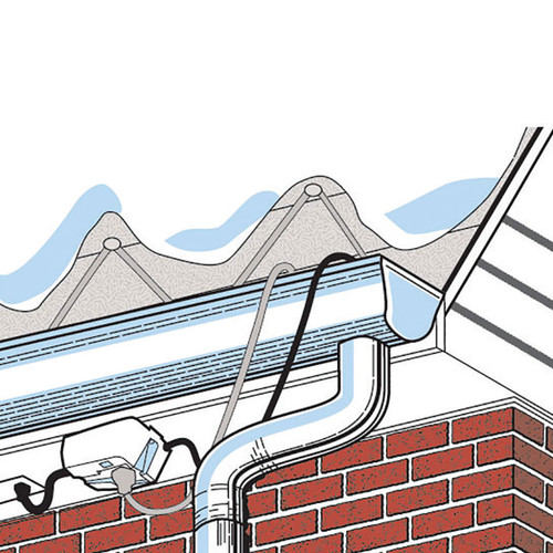 Roof & Gutter Cable 100'